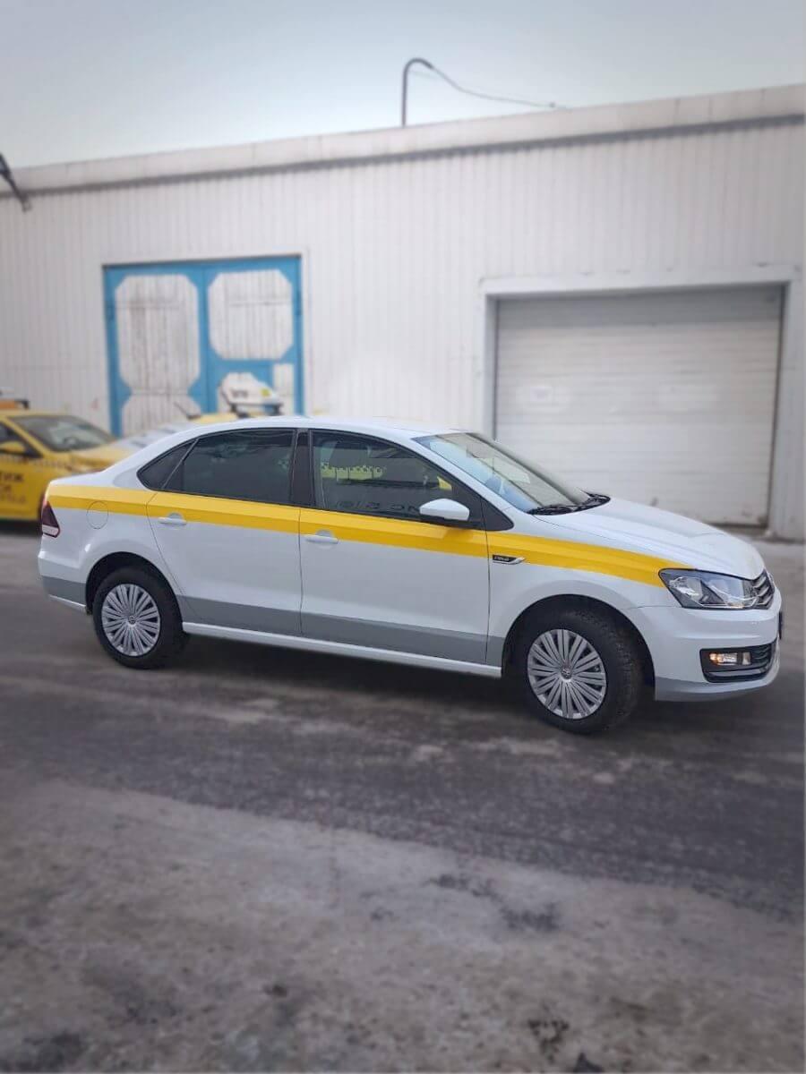 Оклейка Автомобиля Volkswagen Polo